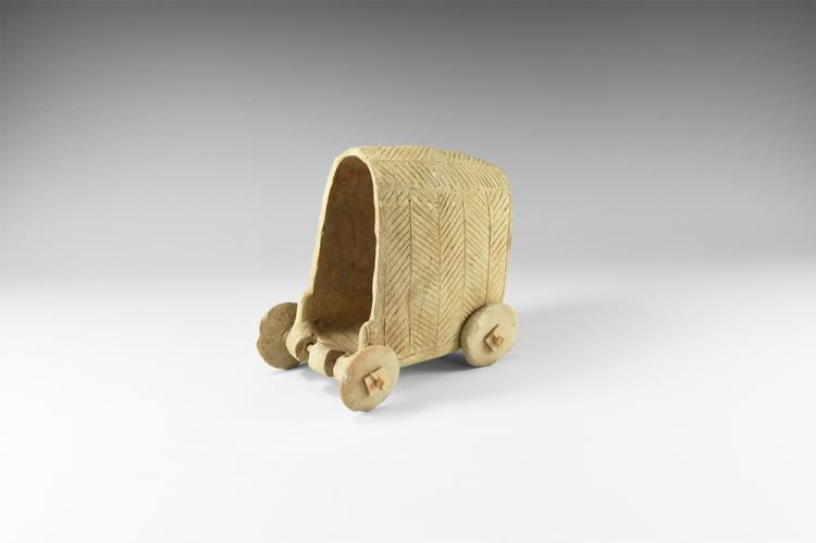 Western Asiatic Covered Cart Model