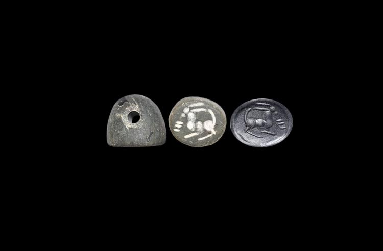 Western Asiatic Sassanian Stamp Seal with Animal