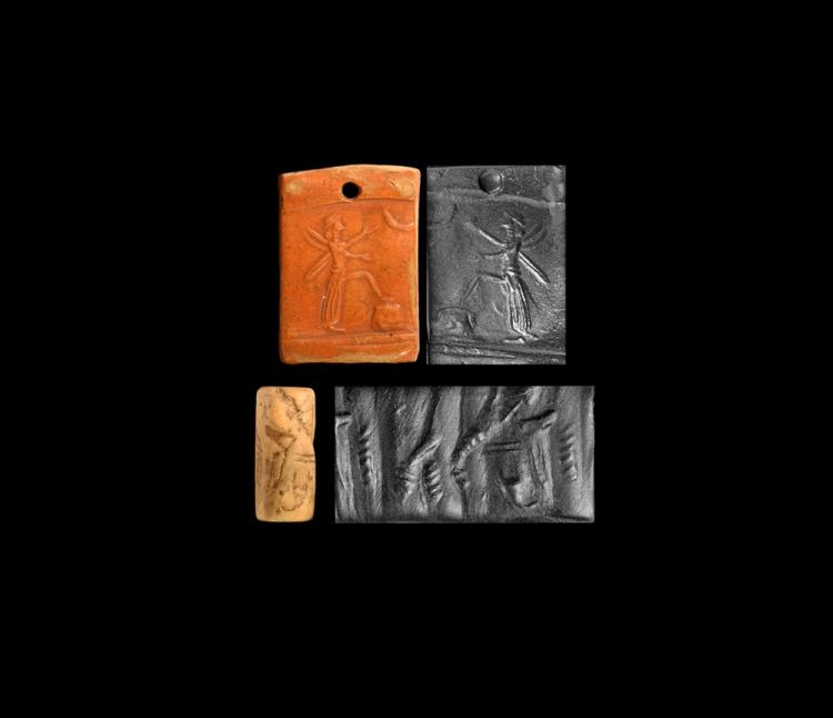 Western Asiatic Plaque and Cylinder Seal Group