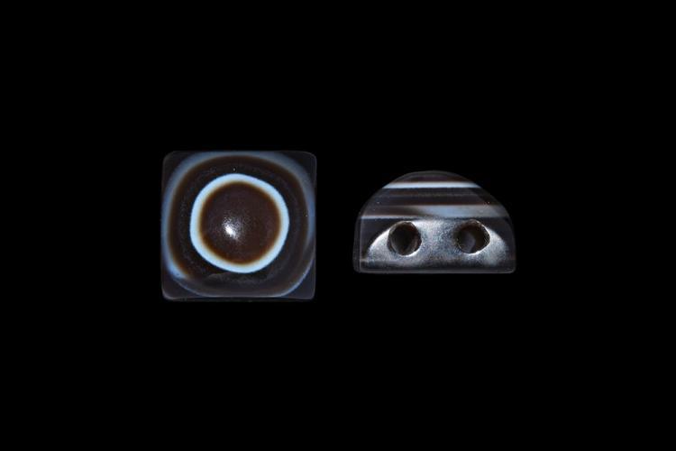 Western Asiatic Double-Pierced Eye Bead