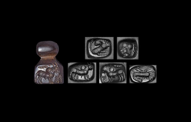 Western Asiatic Five-Sided Pendant Seal