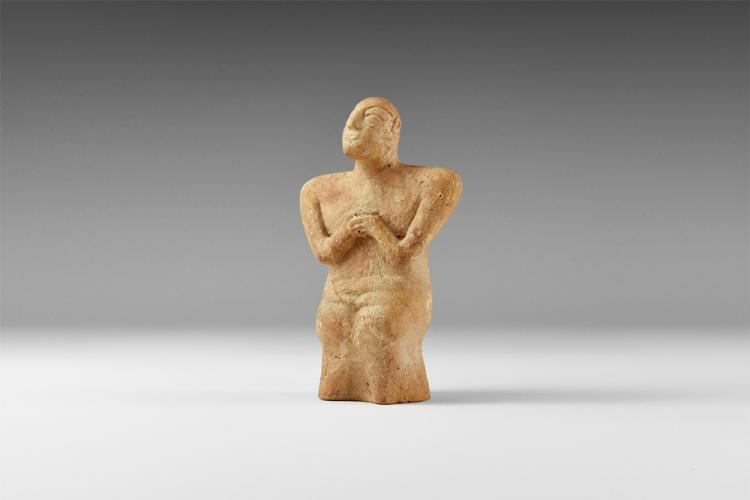 Western Asiatic Bactrian Idol