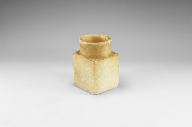 Western Asiatic Bactrian Square Jar