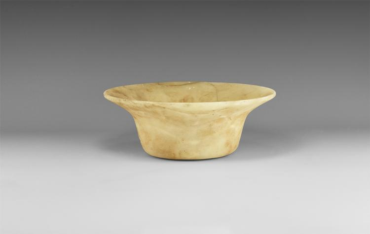 Western Asiatic Bactrian Flared Bowl