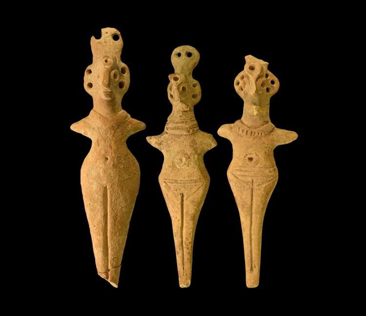 Western Asiatic Syro-Hittite Idol Group