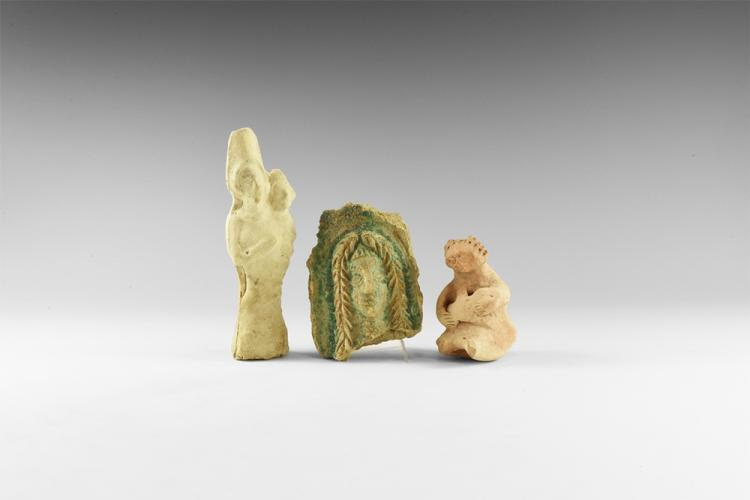 Western Asiatic Statuette Group