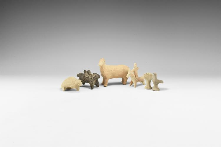 Western Asiatic Animal Statuette Group