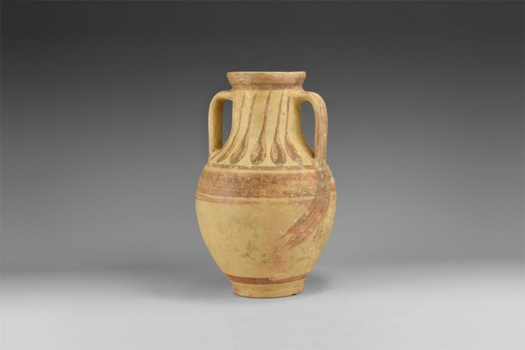 Western Asiatic Decorated Vase