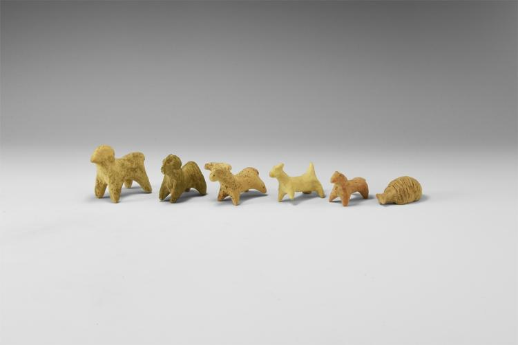 Western Asiatic Animal Figurine Group