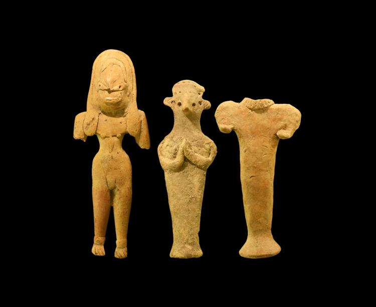 Western Asiatic Syro-Hittite Idol Group