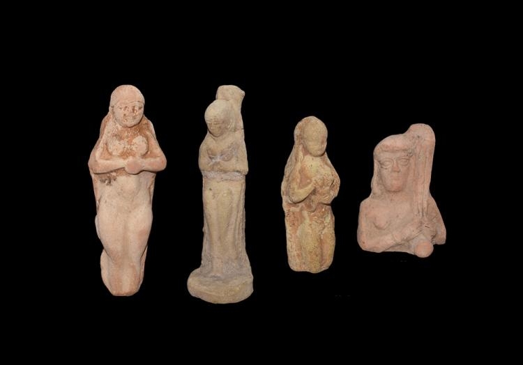 Western Asiatic Figural Plaque Group