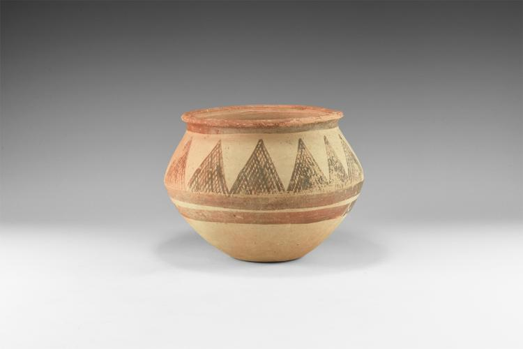 Western Asiatic Holy Land Decorated Storage Jar