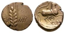 Celtic Iron Age Coins - Catuvellauni - Cunobelin - Gold Wild Stater