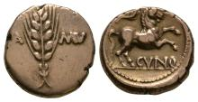 Celtic Iron Age Coins - Trinovantes and Catuvellauni - Cunobelin - Classic Variant Gold Stater