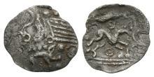 Celtic Iron Age Coins - Iceni - Barley Boar Half Unit