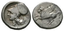 Ancient Greek Coins - Acarnania - Thyrrheium - Pegasos Stater