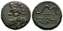 Ancient Greek Coin - Cimmerian Bosporos - Pantikapaion - Pan Bronze