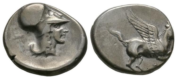 Ancient Greek Coins - Corinth - Pegasos Stater