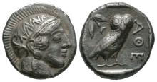 Ancient Greek Coins - Syria - Imitatative Athens Owl Tetradrachm