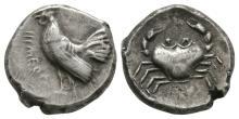 Ancient Greek Coins - Himera - Crab Didrachm