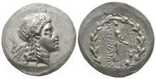 Ancient Greek Coins - Myrina - Apollo of Gryneium Tetradrachm
