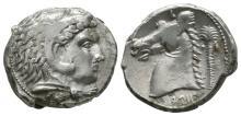 Ancient Greek Coins - Siculo-Punic - Carthage - Herakles Tetradrachm