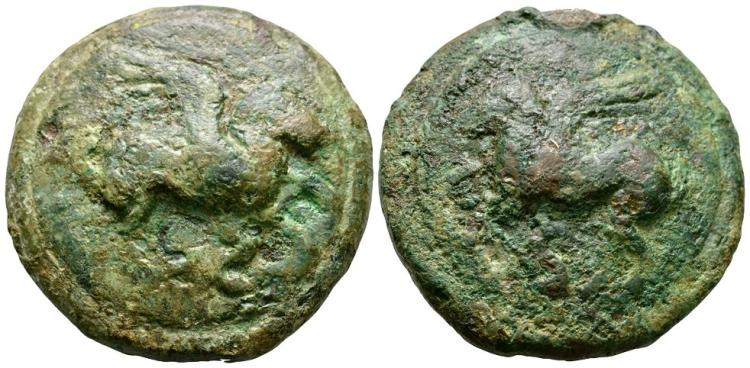 Ancient Roman Republican Coins - Aes Grave - Rome - Pegasus Semis