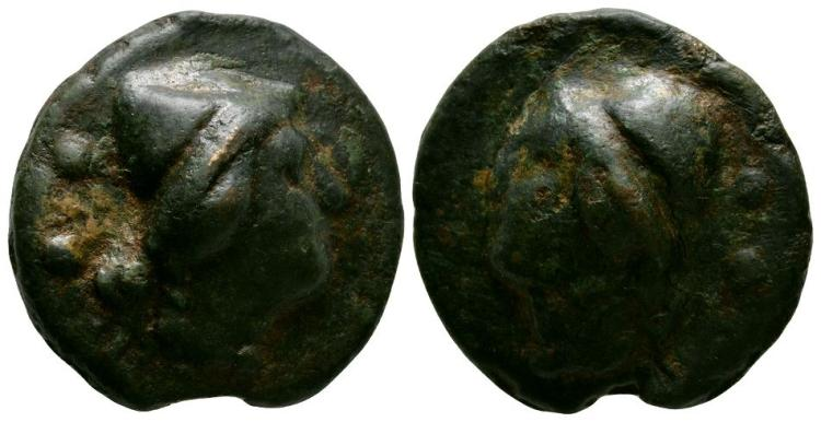 Ancient Roman Republican Coins - Aes Grave - Rome - Dioscuri Sextans
