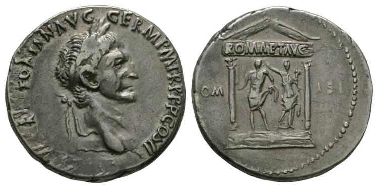 Ancient Roman Imperial Coins - Trajan - Temple Cistophorus