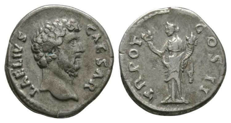 Ancient Roman Imperial Coins - Aelius - Felicitas Denarius