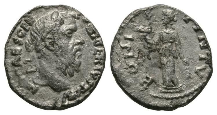 Ancient Roman Imperial Coins - Pescennius Niger - Bonus Eventus Denarius