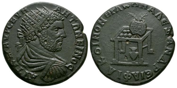 Ancient Roman Imperial Coins - Caracalla - Philippopolis - Pythian Games Bronze