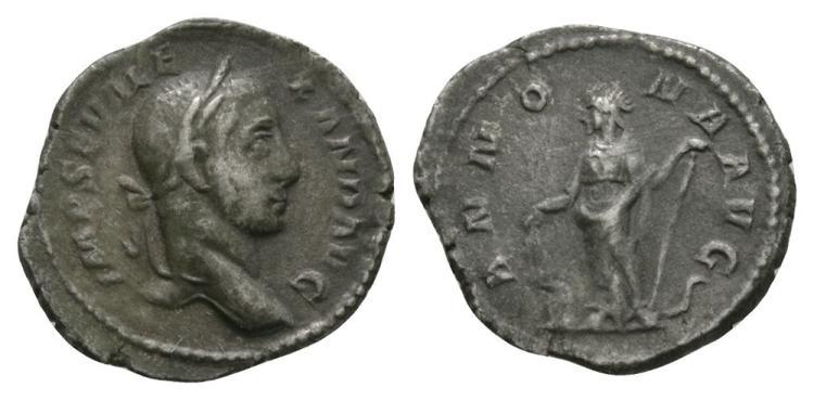 Ancient Roman Imperial Coins - Severus Alexander - Annona Quinarius