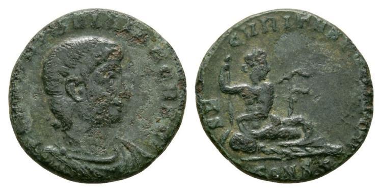 Ancient Roman Imperial Coins - Hanniballianus - Euphrates Reduced Centenionalis