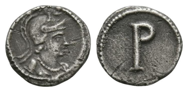 Ancient Roman Imperial Coins - Constantine I (the Great) - Roma Half Scripulum