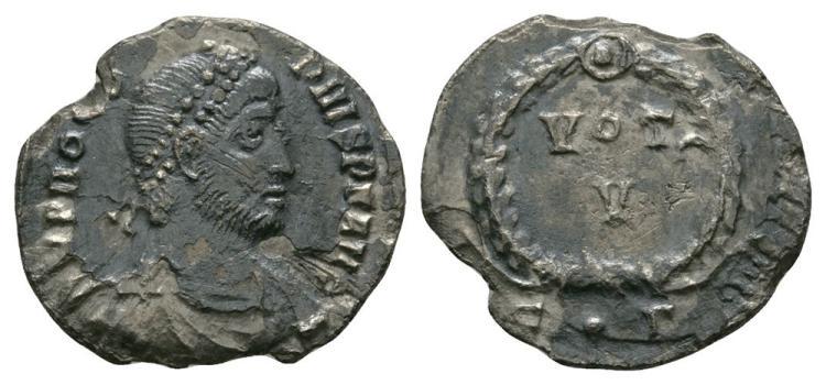 Ancient Roman Imperial Coins - Procopius - Wreath Siliqua