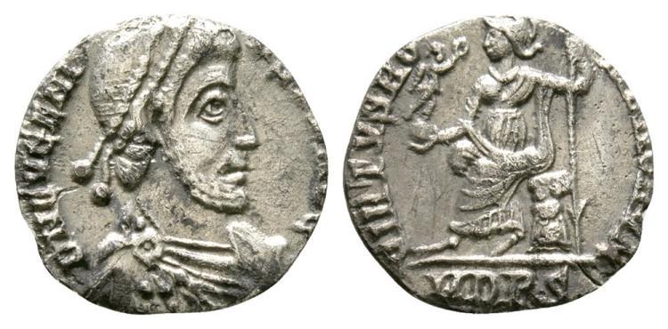 Ancient Roman Imperial Coins - Eugenius - Roma Siliqua