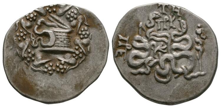 Ancient Greek Coins - Pergamum - Cistophoric Tetradrachm