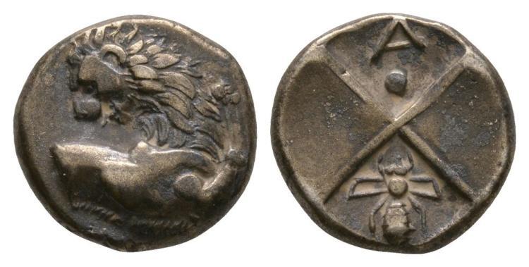 Ancient Greek Coins - Thracian Chersonesos - Lion Hemidrachm