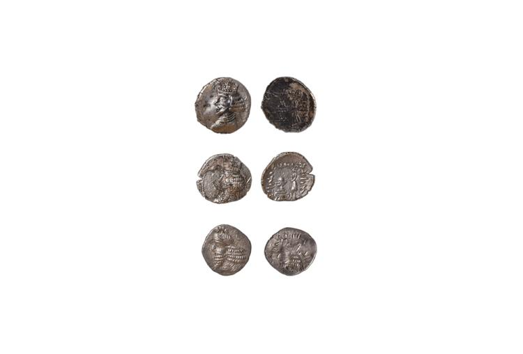 Ancient Greek Coins - Persis - Oxathres - Drachm Group [3]