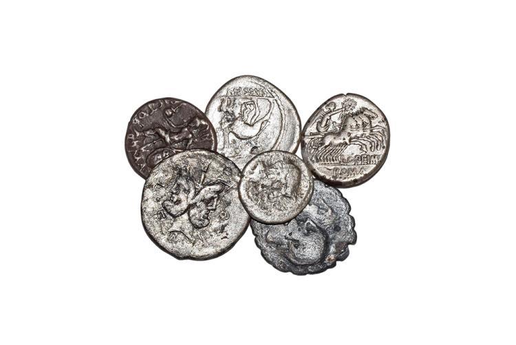 Ancient Roman Republican Coins - Mixed Denarii Group [6]