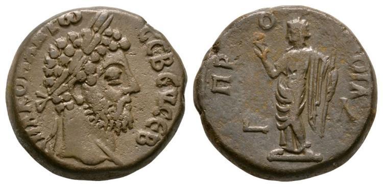 Ancient Roman Imperial Coins - Commodus - Alexandria - Pronoia Tetradrachm