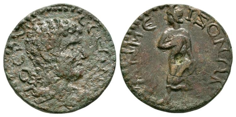 Ancient Roman Imperial Coins - Termessos Major - Pisidia - Apollo Bronze