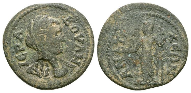 Ancient Roman Imperial Coins - Antioch ad Maeandrum - Boule Bronze