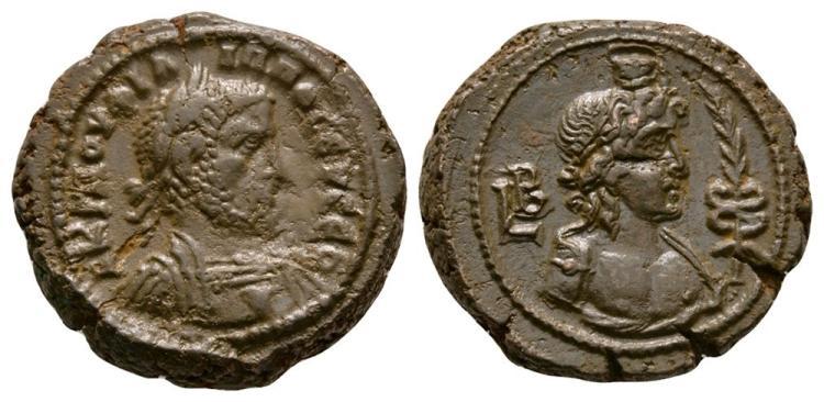Ancient Roman Imperial Coins - Philip I - Alexandria - Hermanubis Tetradrachm