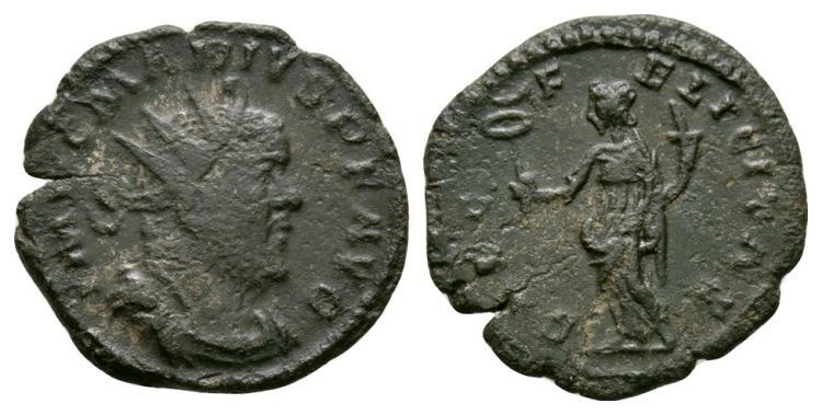 Ancient Roman Imperial Coins - Marius - Felicitas Antoninianus