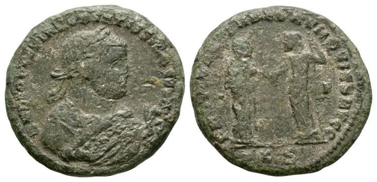 Ancient Roman Imperial Coins - Maximianus - Providentia Follis
