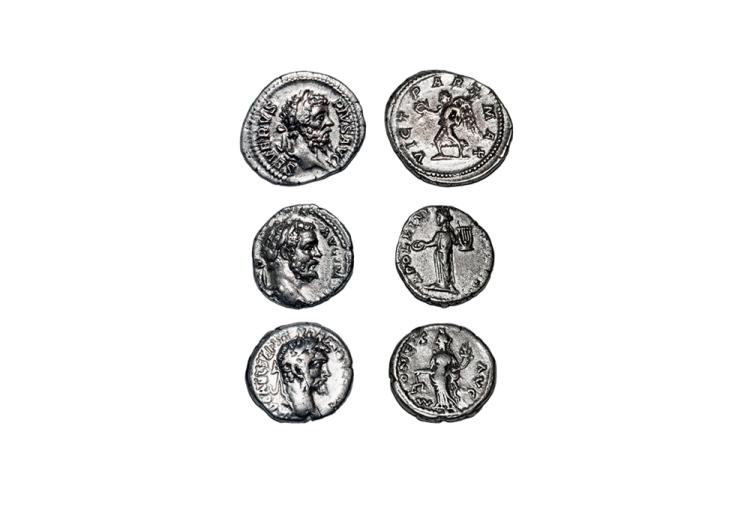 Ancient Roman Imperial Coins - Septimius Severus - Denarii [3]