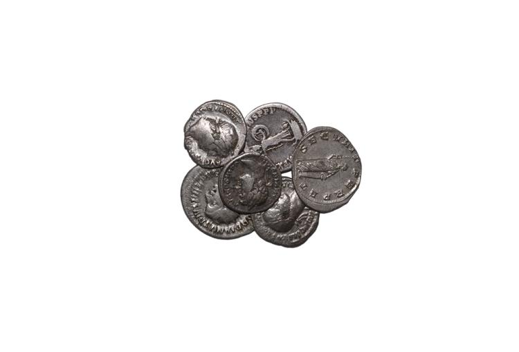 Ancient Roman Imperial Coins - Domitian to Valerian - Denarii and Antoninianii Group [6]