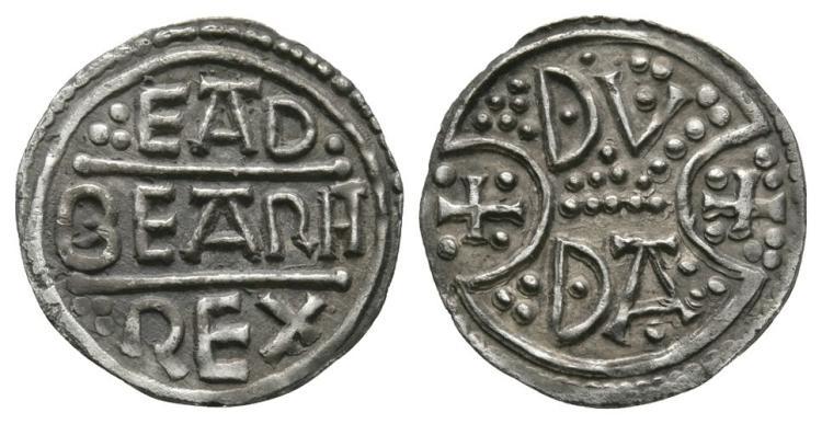 Anglo-Saxon Coins - Eadberht Praen - Canterbury / Duda - Penny
